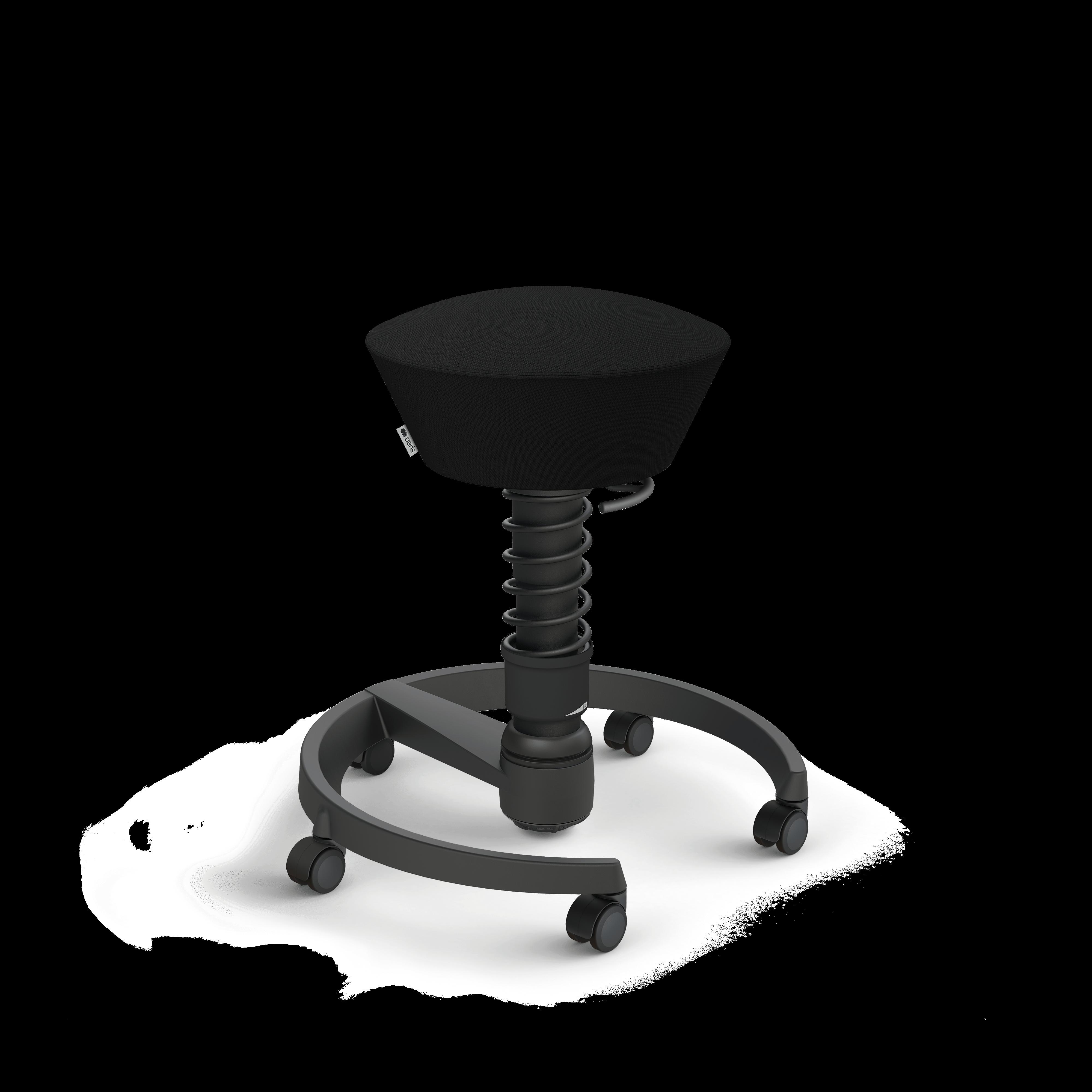 102 hb stbk bk se01 aeris swopper castors hard floor standard black black select black 01