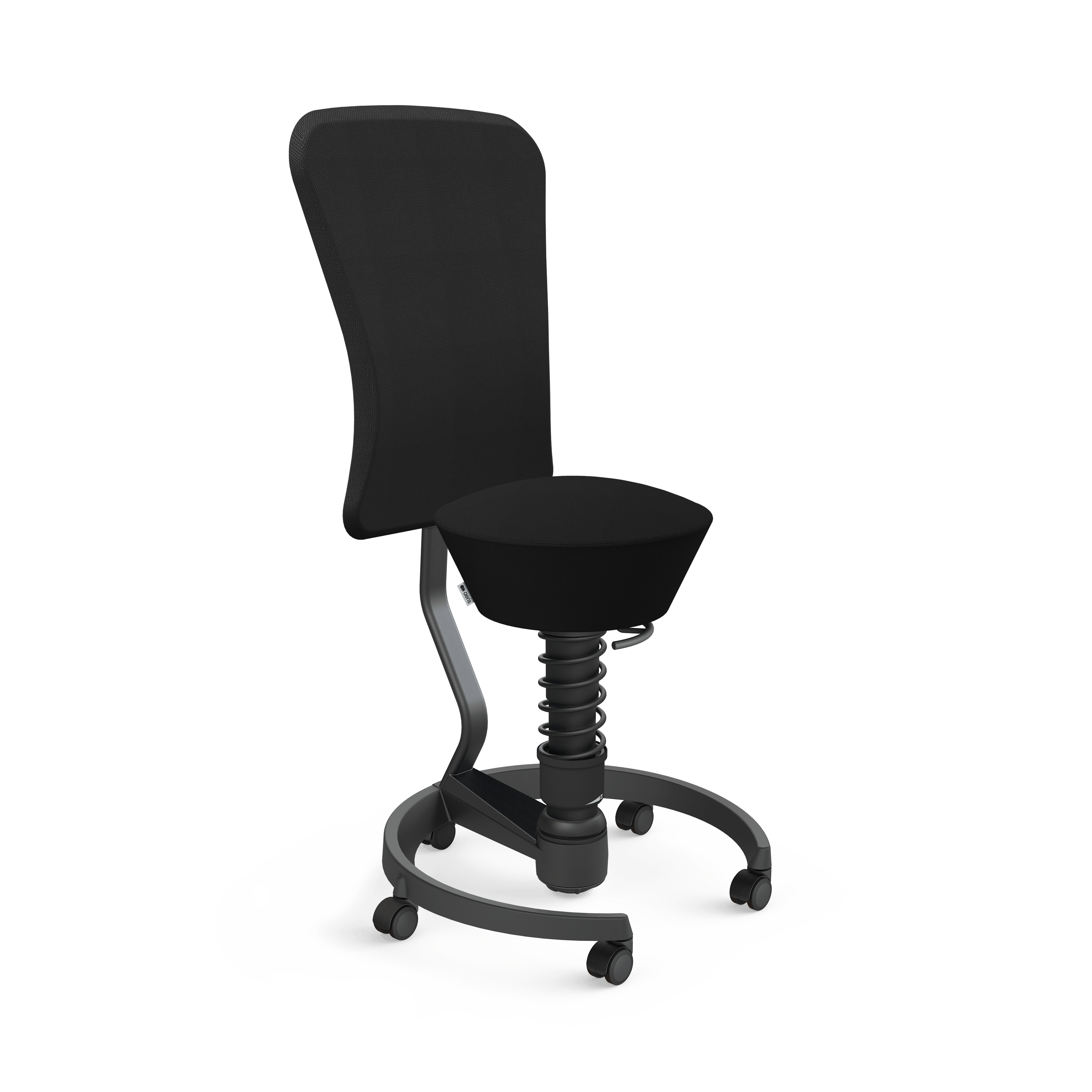 103 hb stbk bk se01 aeris swopper backrest castors hard floor standard black black select black 01