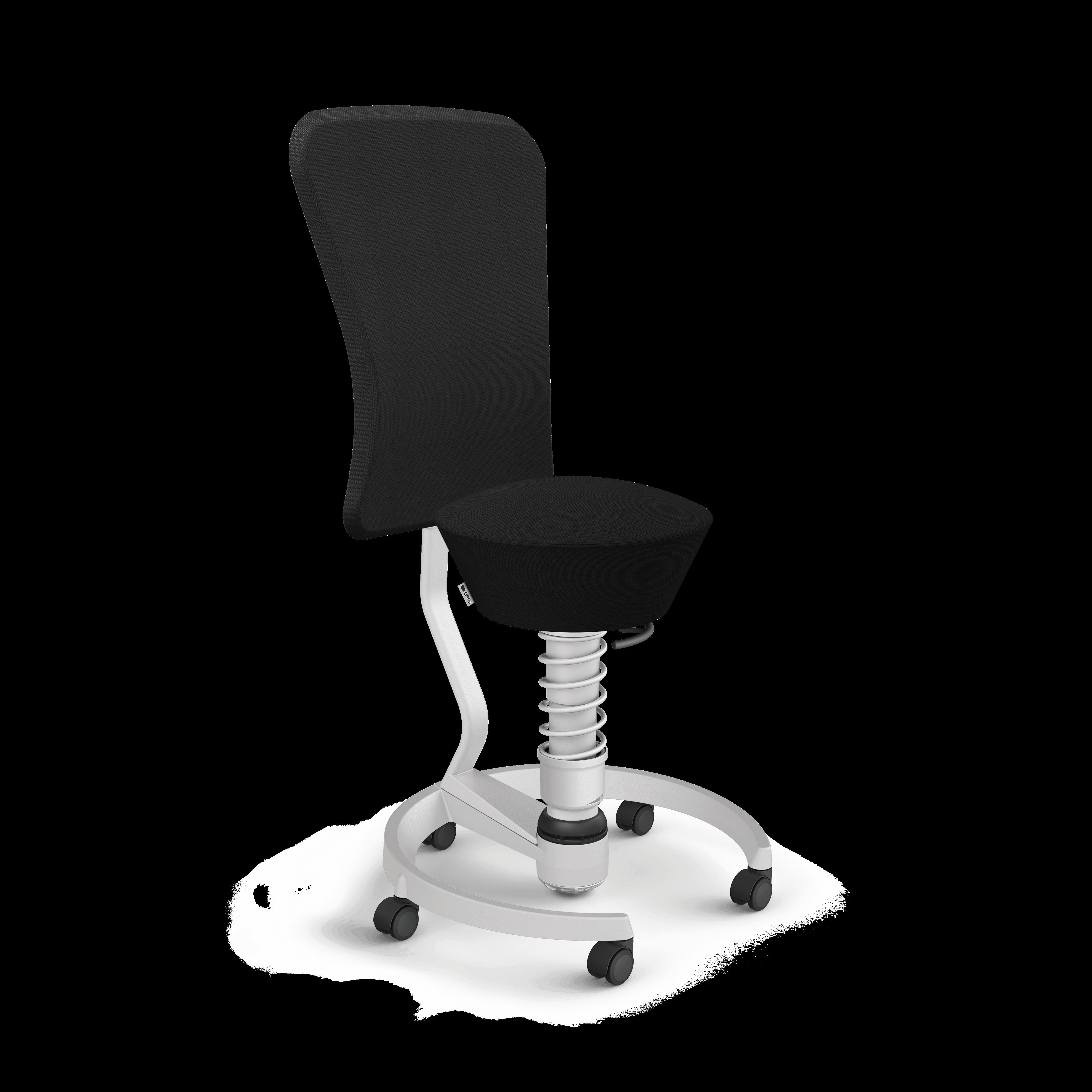 103 hb stlm lm se01 aeris swopper backrest castors hard floor standard light grey metallic light grey metallic select black 01