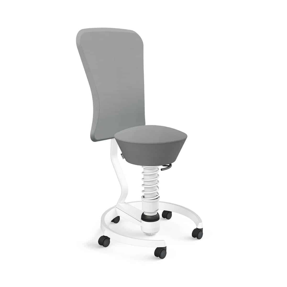 103 hb stwh wh se02 aeris swopper backrest castors hard floor standard white white select grey 02